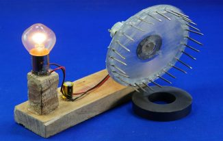 How to Make DIY Magnetic Power Generator